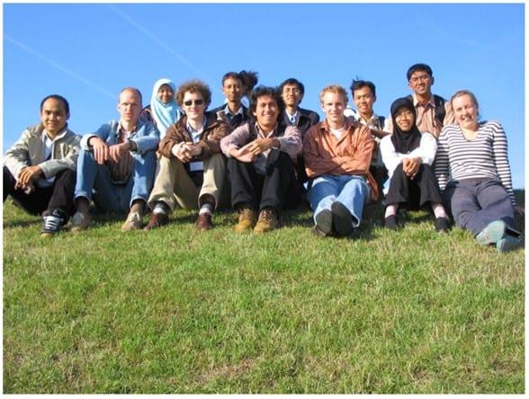 Mahasiswa yang mengikuti program CASECUBE Tahun 2006